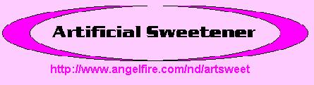 Artificial Sweetener